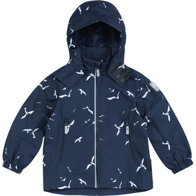 Reima Fasarby Reimatec Jacket Kids navy/birds